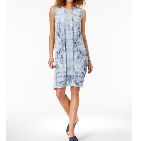 Style & Co Dresses & Skirts - STYLE & CO Printed Swing Dress